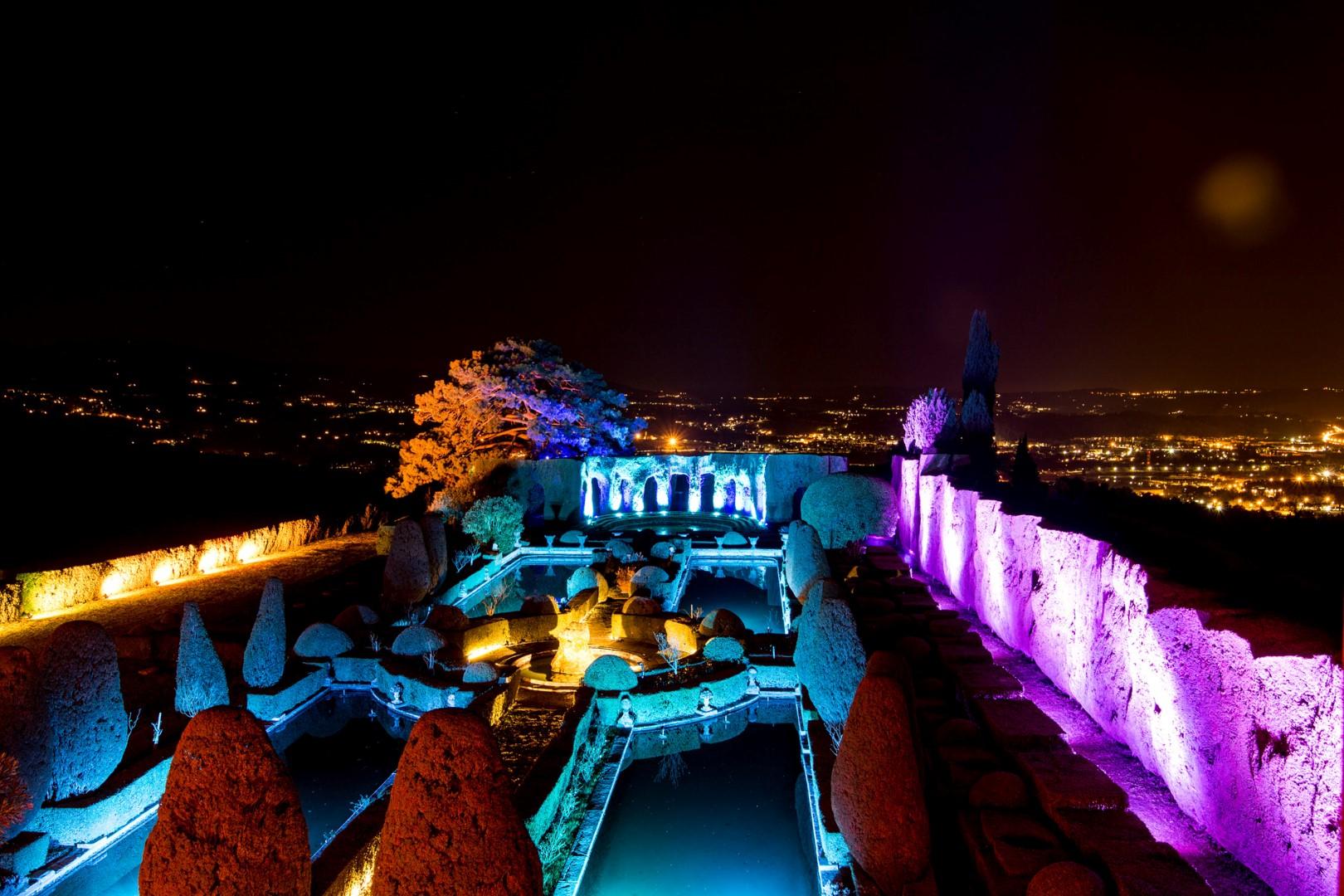Borgo di Pignano - fairy lights